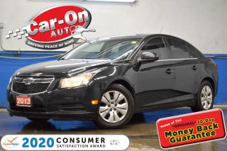 Used 2013 Chevrolet Cruze TURBO REAR CAM BLUETOOTH REMOTE START for sale in Ottawa, ON
