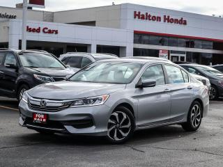 Used 2016 Honda Accord LX|SERVICE HISTORY ON FILE for sale in Burlington, ON