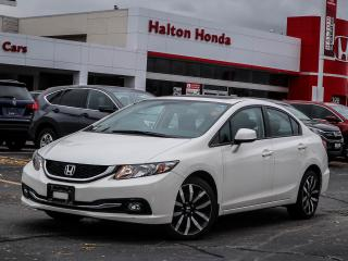Used 2013 Honda Civic TOURING NO ACCIDENTS for sale in Burlington, ON