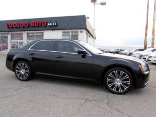 Used 2013 Chrysler 300 S V6 NAVIGATION CAMERA CERTIFIED 2YR WARRANTY for sale in Milton, ON
