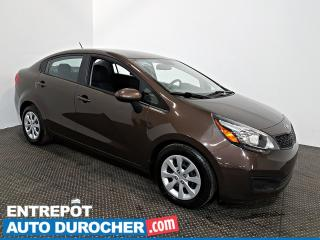 Used 2015 Kia Rio Automatique - AIR CLIMATISÉ - Groupe Électrique for sale in Laval, QC