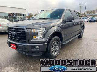 Used 2016 Ford F-150 XLT  - local - trade-in for sale in Woodstock, ON