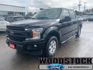 Used 2018 Ford F-150 XLT  - One owner - Local - Trade-in for sale in Woodstock, ON