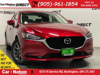 Used 2018 Mazda MAZDA6 GS| BACK UP CAMERA| HEATED SEATS| PUSH START| for sale in Burlington, ON