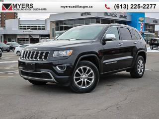 Used 2014 Jeep Grand Cherokee Limited  LIMITED, AWD, HEATED SEATS, BLUETOOTH, SUNROOF, ALLOY WHEELS, V6 for sale in Ottawa, ON