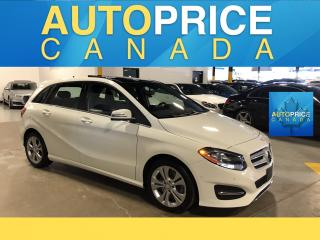 Used 2017 Mercedes-Benz B-Class Sports Tourer NAVIGATION|PANOROOF|LEATHER for sale in Mississauga, ON