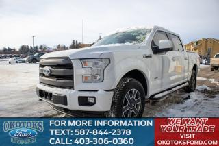 Used 2017 Ford F-150 Lariat 502A Luxury Equipment Group, MAX TOW PACKAGE, SPORT PACKAGE, TAILGATE STEP, HEATED SECOND ROW for sale in Okotoks, AB