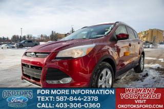 Used 2016 Ford Escape 4X4, LOW KMS, ONE OWNER, NO ACCIDENTS, SE CONVENIENCE PACKAGE, NAVIGATION, REVERSE CAM, REMOTE ENTRY for sale in Okotoks, AB