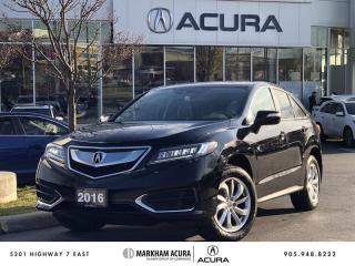 Used 2016 Acura RDX at Heated Seats, Backup Camera for sale in Markham, ON