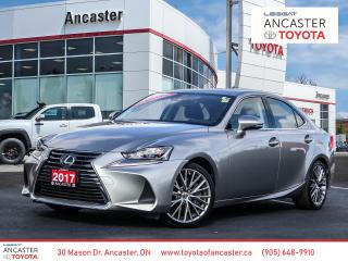 Used 2017 Lexus IS 300 - SUNROOF|LEATHER|BACKUP CAMERA|HEATED WHEEL for sale in Ancaster, ON