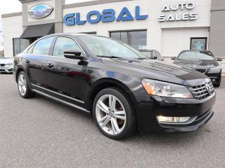 Used 2013 Volkswagen Passat 2.0L TDI COMFORTLINE LEATHER AUTO. for sale in Ottawa, ON