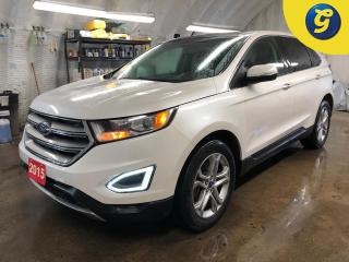Used 2015 Ford Edge Titanium * AWD * Navigation * Leather interior * Power moonroof * Remote start * 2 rear DVD player in head rests * Heated front and rear seats * A/C f for sale in Cambridge, ON