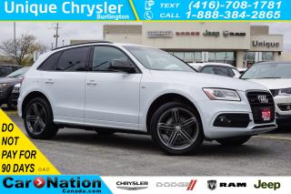 Used 2017 Audi Q5 TECHNIK| S-LINE COMPETITION PKG| NAVIGATION PKG for sale in Burlington, ON