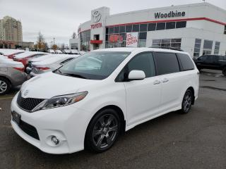 Used 2017 Toyota Sienna SE 8 Passenger SE for sale in Etobicoke, ON