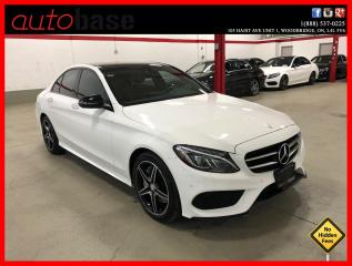 Used 2017 Mercedes-Benz C-Class C300 4MATIC NIGHT BURMESTER PREMIUM PLUS LED RED INT! for sale in Vaughan, ON