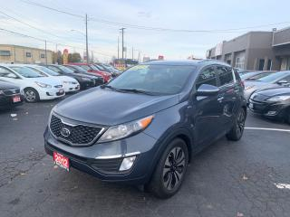 Used 2012 Kia Sportage SX for sale in Hamilton, ON