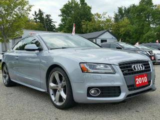 Used 2010 Audi A5 2dr Cpe Auto 2.0L for sale in Kitchener, ON