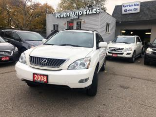 Used 2008 Lexus RX 350 4WD 4DR for sale in Brampton, ON