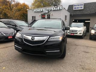 Used 2014 Acura MDX SH-AWD 4dr Nav Pkg for sale in Brampton, ON