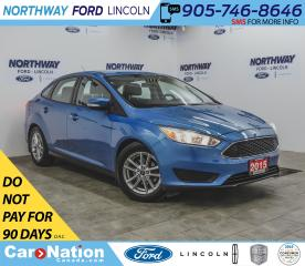 Used 2015 Ford Focus SE | HTD SEATS | BACKUP CAM | REMOTE START | for sale in Brantford, ON