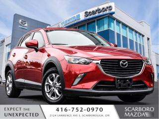 Used 2018 Mazda CX-3 GS|FREE NEW WINTER TIRES|1 OWNER for sale in Scarborough, ON