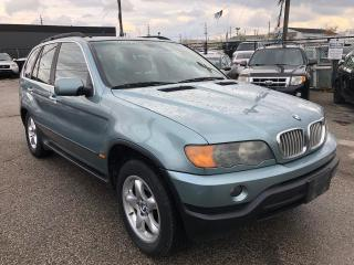 Used 2003 BMW X5 4.4i, LEATHER, BLUETOOTH, SUNROOF for sale in Woodbridge, ON