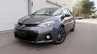 Used 2015 Toyota Corolla GORGEOUS FULL SERVICE ROOF WHEELS ALLOY GREAT P$$ for sale in Toronto, ON
