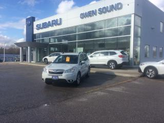 Used 2016 Subaru Forester i Convenience for sale in Owen Sound, ON
