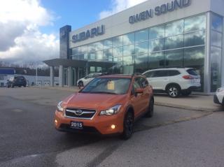 Used 2015 Subaru XV Crosstrek 2.0i w/Sport Pkg for sale in Owen Sound, ON