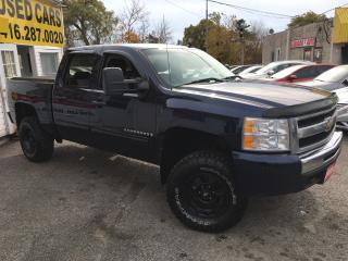 Used 2009 Chevrolet Silverado 1500 LT/ LIFTED/ CREW CAB/ 4X4/ UPGRADED WHEELS & TIRES for sale in Scarborough, ON