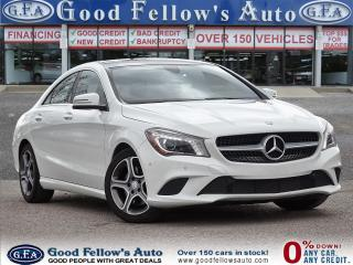 Used 2015 Mercedes-Benz CLA250 4MATIC, PANORAMIC ROOF, LEATHER SEATS, PREMIUM PKG for sale in Toronto, ON