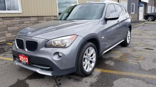 Used 2012 BMW X1 28i-AWD-PREMIUM PKG-PAN SUNROOF-HEATED LEATHER for sale in Tilbury, ON