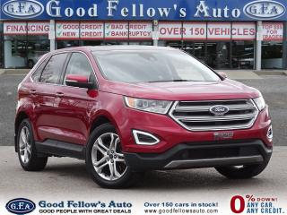 Used 2016 Ford Edge TITANIUM, 6CYL, AWD, LEATHER SEATS, PANORAMIC ROOF for sale in Toronto, ON