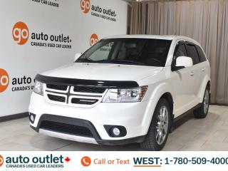 Used 2012 Dodge Journey R/t, 3.6L V6, Awd, Navigation, Heated leather seats, Backup camera, Sunroof, Bluetooth for sale in Edmonton, AB
