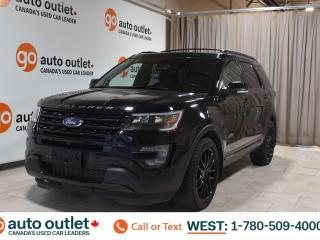Used 2017 Ford Explorer Sport, 3.5L V6, 4wd, Navigation, Heated/Cooled leather seats, Backup camera, Sunroof/Moonroof, Bluetooth for sale in Edmonton, AB