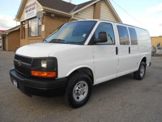 Used 2013 Chevrolet Express 2500 2500HD Cargo 4.8L Loaded 4Dr Divider ONLY 7,800Km for sale in Etobicoke, ON