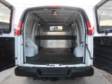 2013 Chevrolet Express 2500 2500HD Cargo 4.8L Loaded 4Dr Divider ONLY 7,800Km
