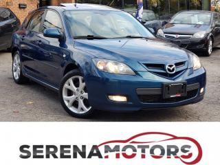 Used 2008 Mazda MAZDA3 GT | MANUAL | SUNROOF | ONE OWNER | NO ACCIDENTS for sale in Mississauga, ON