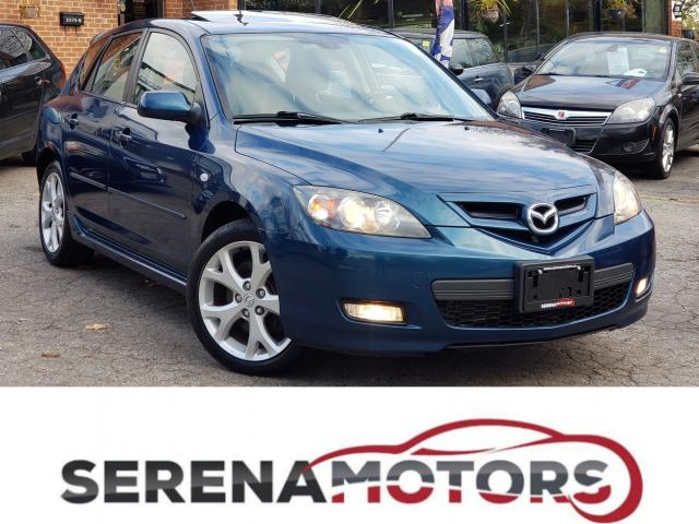 2008 Mazda MAZDA3 GT | MANUAL | SUNROOF | ONE OWNER | NO ACCIDENTS