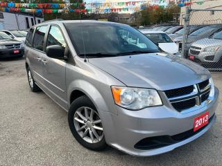 Used 2013 Dodge Grand Caravan BK UP CAM-NAVI-BLUETOOTH for sale in Scarborough, ON