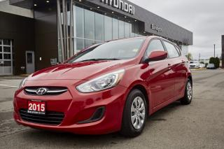Used 2015 Hyundai Accent for sale in Burlington, ON