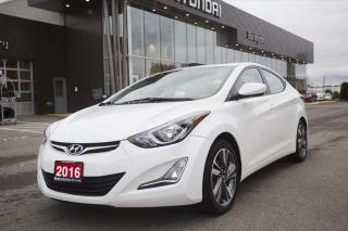 Used 2016 Hyundai Elantra for sale in Burlington, ON