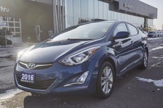 Used 2016 Hyundai Elantra SE for sale in Burlington, ON