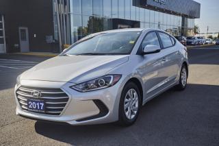 Used 2017 Hyundai Elantra for sale in Burlington, ON