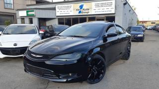 Used 2015 Chrysler 200 S Navi, Backup Cam for sale in Etobicoke, ON