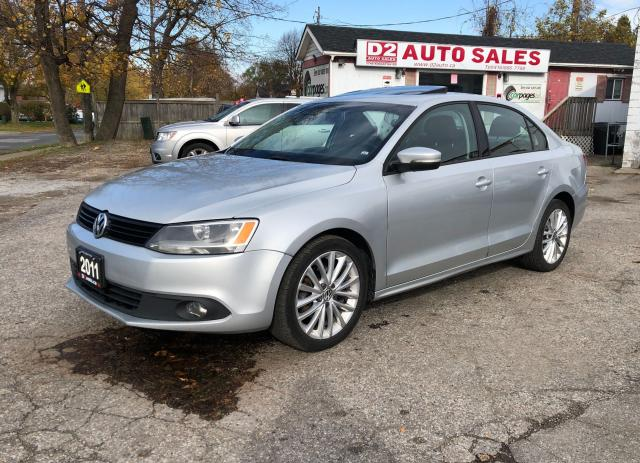 2011 Volkswagen Jetta 1Owner/Leather/Sunroof/Automatic/Comes Certified