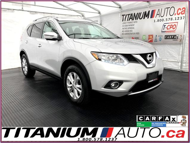 2016 Nissan Rogue SV-Tech+AWD+GPS+360 Camera+Blind Spot+Pano Roof+XM