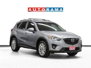 Used 2014 Mazda CX-5 GT 4WD NAVIGATION LEATHER SUNROOF BACKUP CAM for sale in Toronto, ON