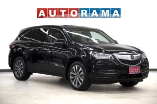 Used 2015 Acura MDX 4WD Navigation Leather Sunroof Backup Cam for sale in Toronto, ON