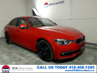 Used 2016 BMW 3 Series 328i xDrive Nav Sun Camera Leather Xenon Certified for sale in Toronto, ON